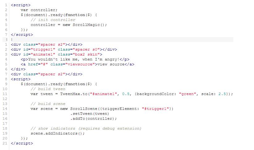 code source magic scroll