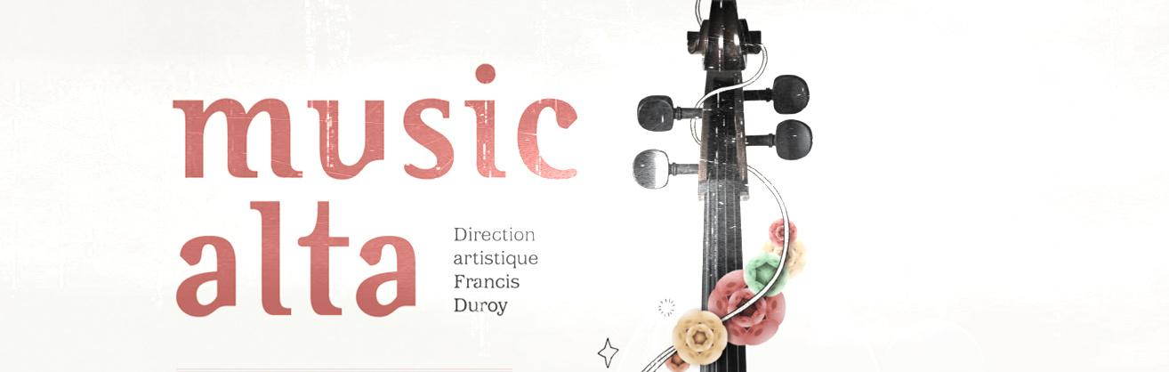 affiche du festival de musique Musicalta 2012