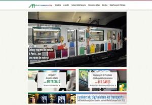 Développement du site de Médiatransports