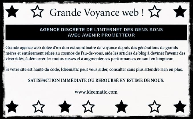 Idéematic prédictions web 2014