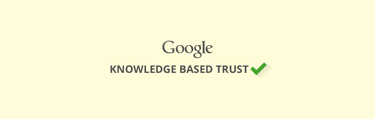 knowledge based trust
