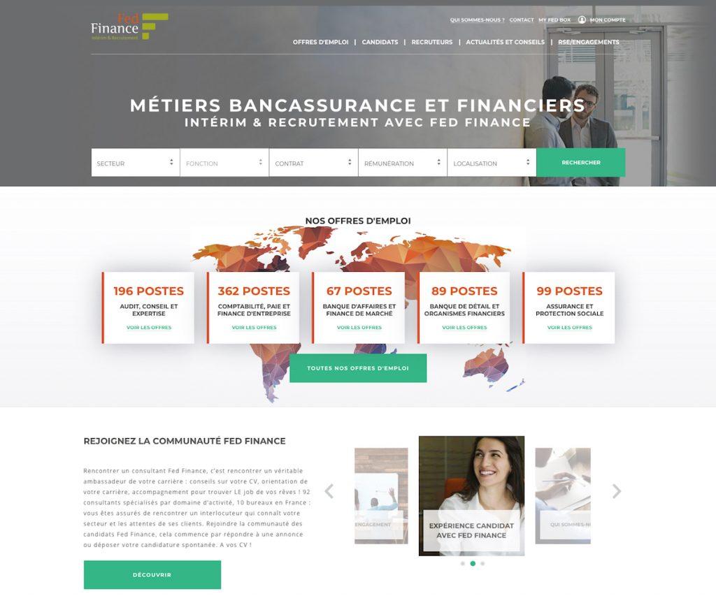 Site fedfinance, après sa refonte