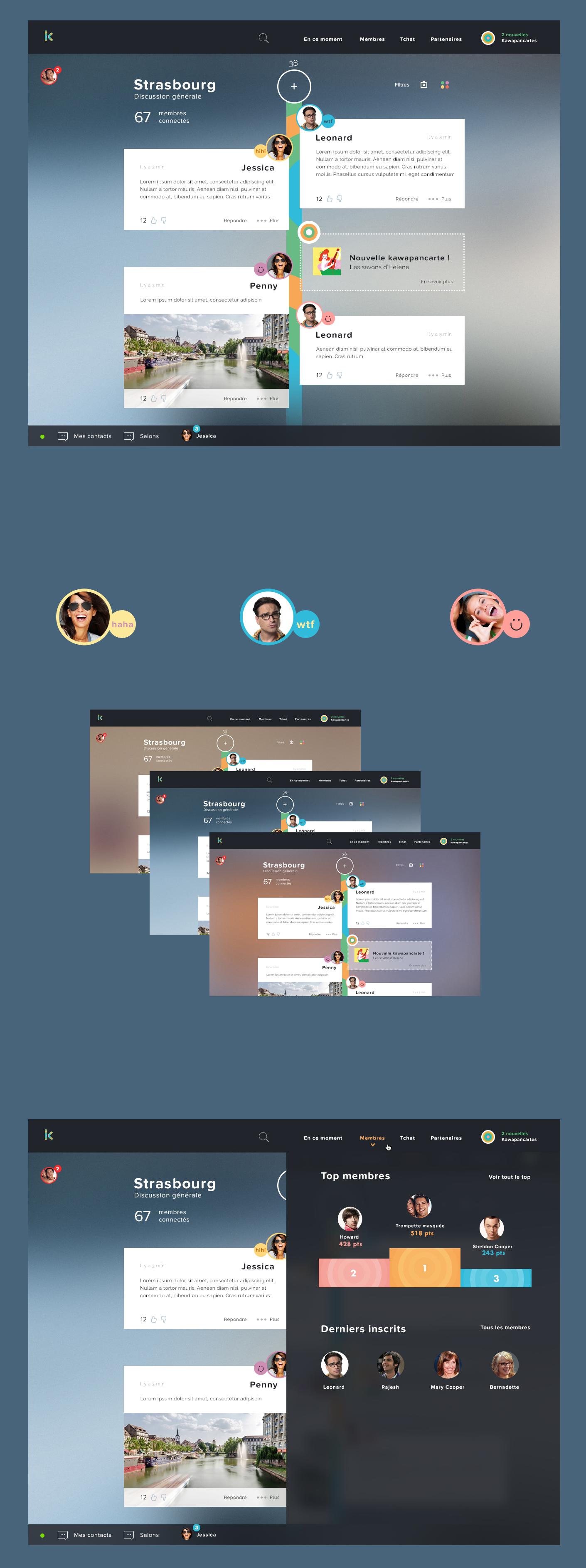 kawagoo Conception ergonomique de l'interface utilisateur