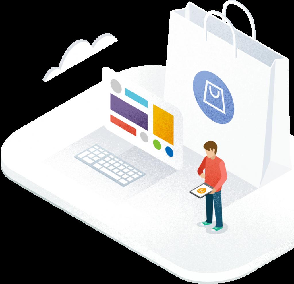 boutique en ligne, site e-commerce
