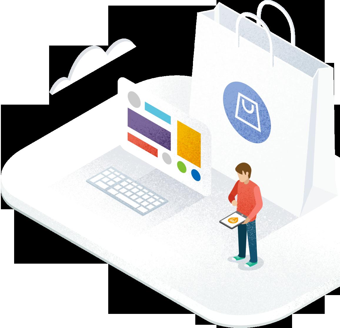 Site e-commerce, vente de produits et services en ligne e0ea9541ed36