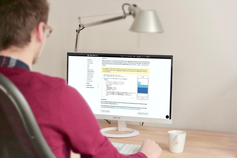 développeur web et mobile avec react js et react native