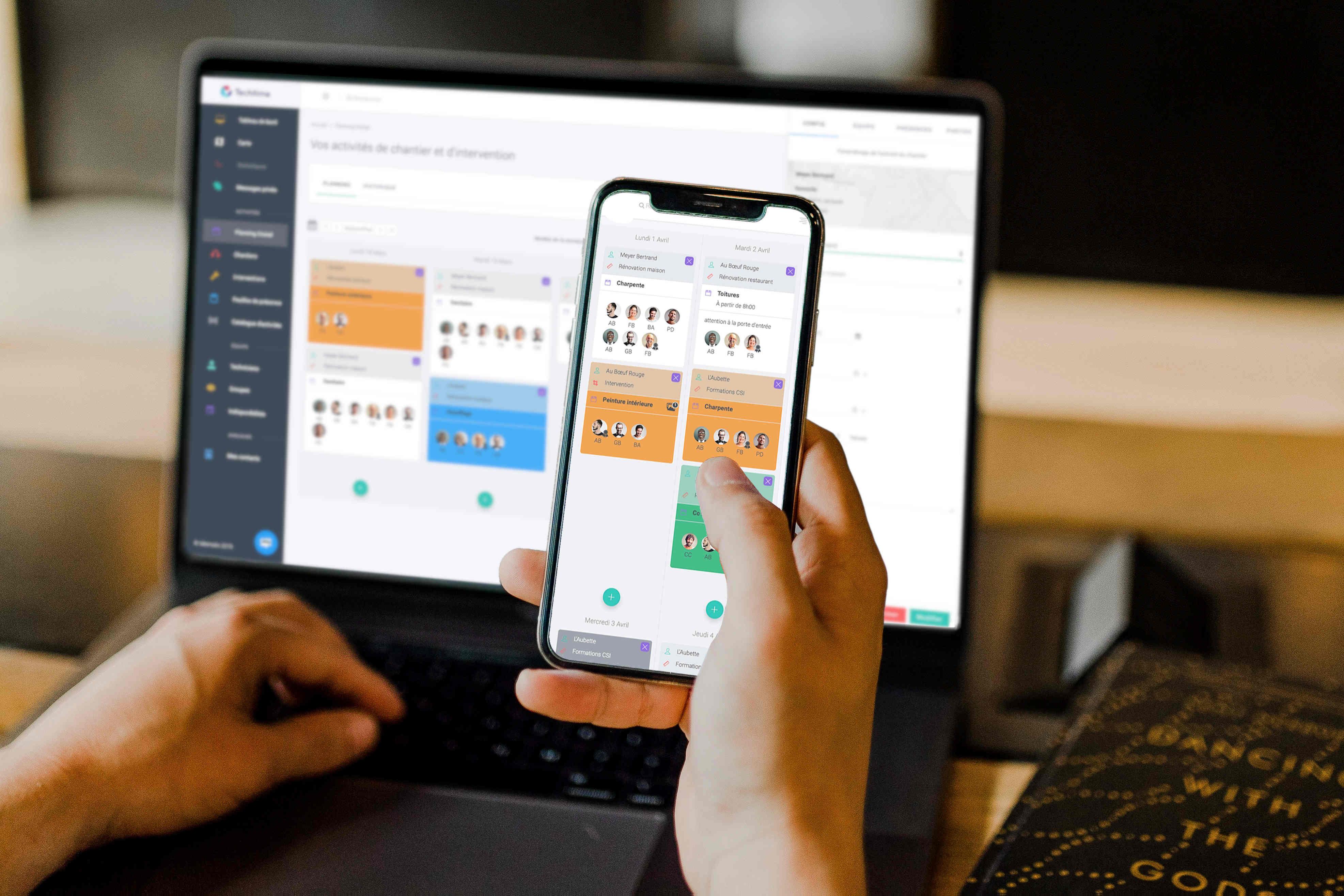 creation application mobile avec vue aussi sur ordinateur